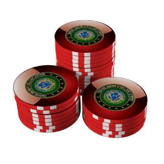 [400] DOD y edición especial del DUI de las activi Fichas De Póquer