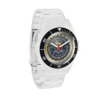 [400] Edición especial del FBI Relojes De Pulsera