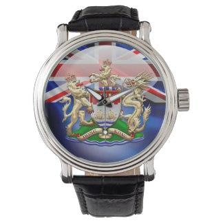 [400] Escudo de armas histórico 1959-1997 de Hong Reloj