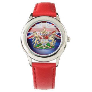[400] Escudo de armas histórico 1959-1997 de Hong Reloj De Mano