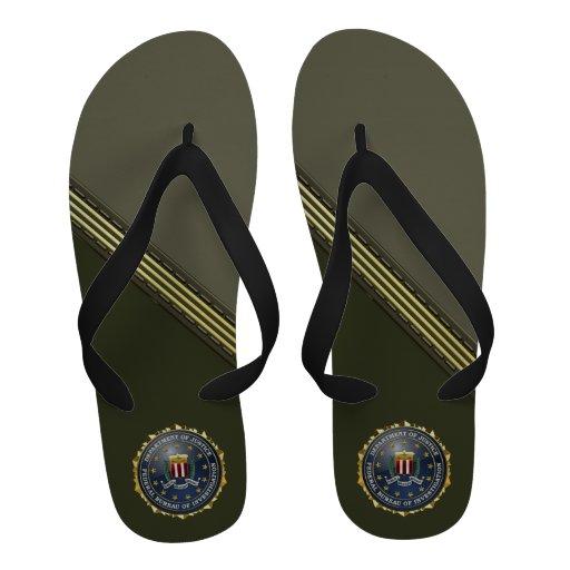 [400] FBI Special Edition Flip-Flops