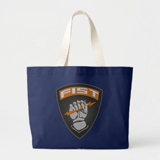 [400] Forward Observer (FIST) [Patch] Large Tote Bag