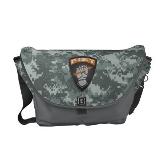 [400] Forward Observer (FIST) [Patch] Messenger Bag