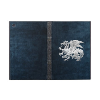 [400] Icelandic Dragon, Landvættir [Silver] Case For iPad Mini