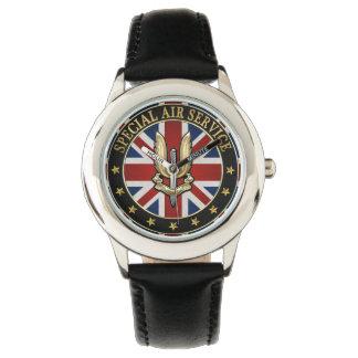 [400] Insignia del servicio aéreo (SAS) especial Reloj