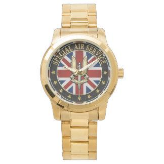[400] Insignia del servicio aéreo (SAS) especial Relojes De Pulsera