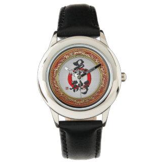 [400] Japanese calligraphy - Jujutsu Wrist Watch