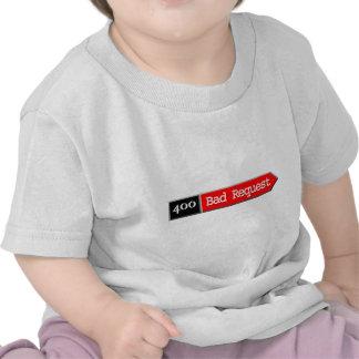 400 - Mala petición Camisetas