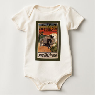 400 Mile ~ International Road Race~Savannah 1908 Baby Bodysuit