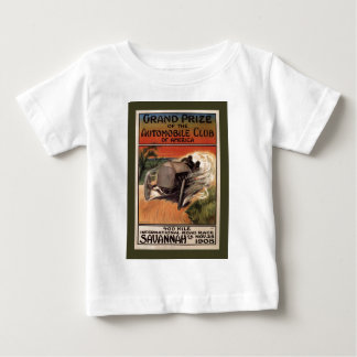 400 Mile ~ International Road Race~Savannah 1908 Baby T-Shirt