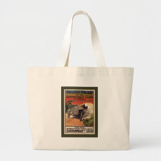 400 Mile ~ International Road Race~Savannah 1908 Large Tote Bag
