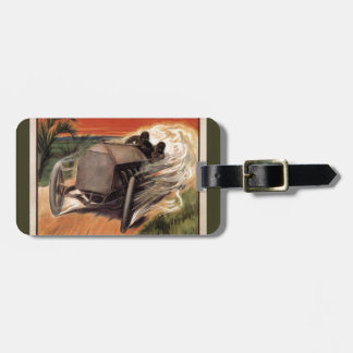 400 Mile ~ International Road Race~Savannah 1908 Luggage Tag