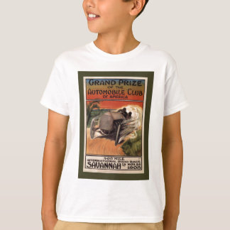 400 Mile ~ International Road Race~Savannah 1908 T-Shirt