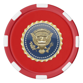 [400] Presidential Service Badge [PSB] Poker Chips