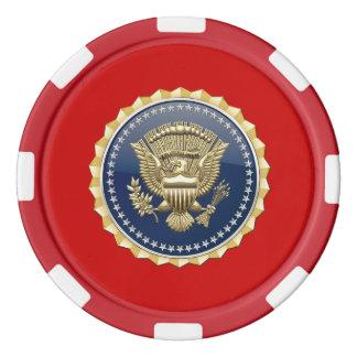 [400] Presidential Service Badge [PSB] Poker Chips