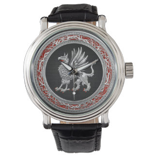 [400] Sacred Silver Griffin Watches