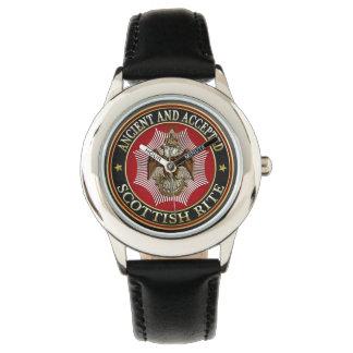 [400] Scottish Rite Double-headed Eagle Wrist Watch