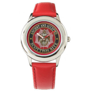 [400] Scottish Rite Double-headed Eagle Wristwatches