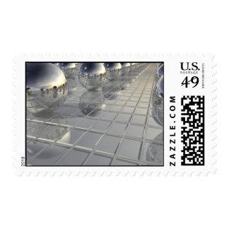 400 Silver Spheres Postage