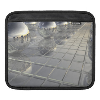 400 Silver Spheres Sleeve For iPads