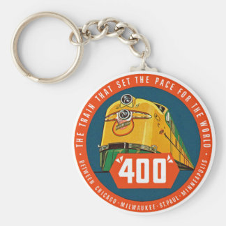 """400 ~ """"The Train That Sets The Pace"""" Keychain"""