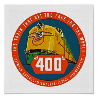 """400 ~ """"The Train That Sets The Pace"""" Poster"""