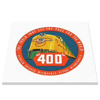 """400 ~ """"The Train That Sets The Pace"""" - XL Canvas Print"""
