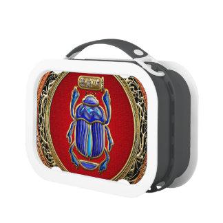 [400] Treasure Trove: Ancient Egyptian Scarab Lunch Box