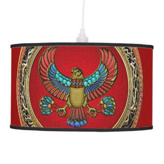 [400] Treasure Trove: Egyptian Falcon Pendant Lamps