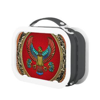 [400] Treasure Trove: Egyptian Falcon Yubo Lunchbox