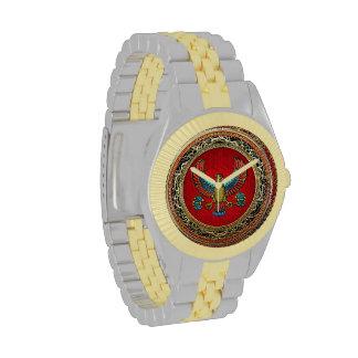 [400] Treasure Trove: Egyptian Falcon Wristwatch