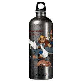 400 Years Don Quixote @QUIXOTEdotTV Aluminum Water Bottle