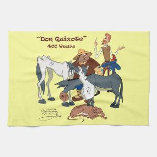 400 Years Don Quixote @QUIXOTEdotTV Hand Towel
