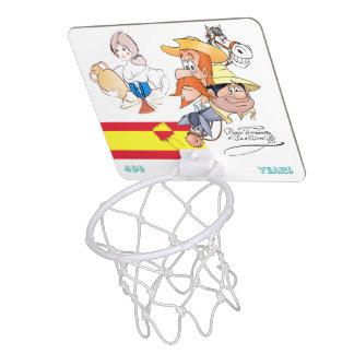 400 Years Don Quixote @QUIXOTEdotTV Mini Basketball Backboard