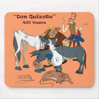 400 Years Don Quixote @QUIXOTEdotTV Mouse Pad