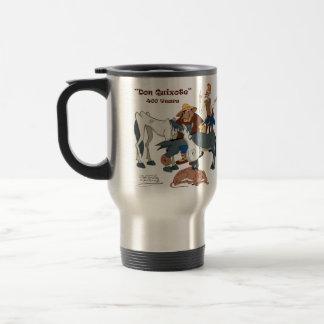 400 Years Don Quixote @QUIXOTEdotTV 15 Oz Stainless Steel Travel Mug