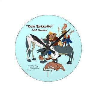 400 Years Don Quixote @QUIXOTEdotTV Round Clock