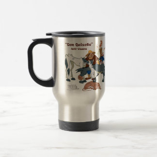 400 Years Don Quixote @QUIXOTEdotTV Travel Mug