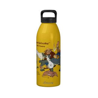 400 Years Don Quixote @QUIXOTEdotTV Reusable Water Bottles