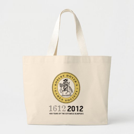 400 Years of The Cotswold Olimpicks Canvas Bag