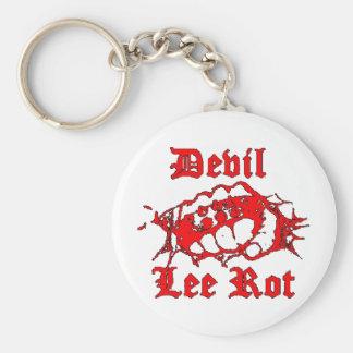 400px-Devil_Lee_Rot_logo Basic Round Button Keychain