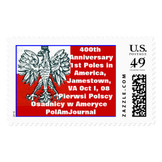 400th Anniversary First  Poles in America      ... Postage