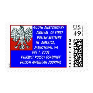 400th Anniversary First Polish Set... - Customized Postage
