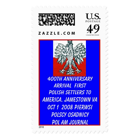 400th Anniversary First Polish Set... - Customized Postage