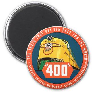 400Train 2 Inch Round Magnet