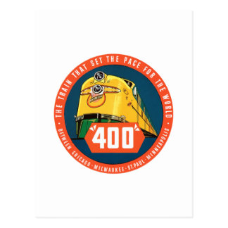 400Train Post Cards