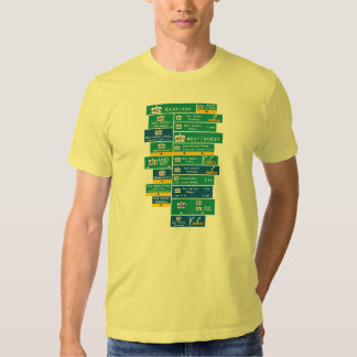 401 and DVP on a T-Shirt