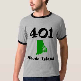 401, Area Code of Rhode Island T-Shirt