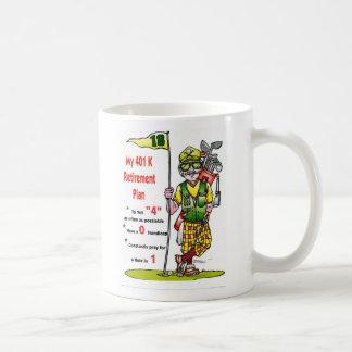 401kgolfer, My 401 KRetirementPlan Coffee Mug