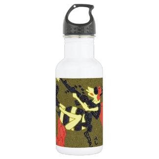 401st SPS B Flight Green Stainless Steel Water Bottle